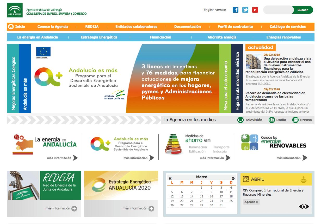 eficiencia energética en Andalucia