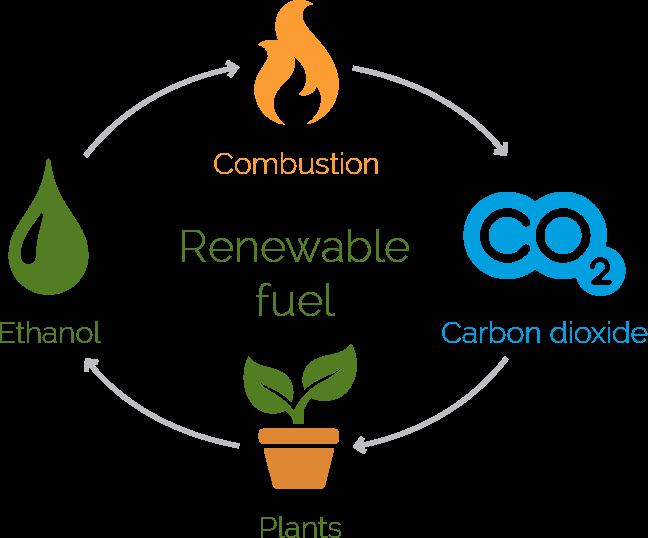 Diagrama del bioetanol